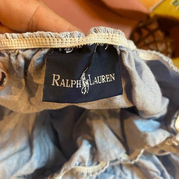 Ralph Lauren fitted twin sheet